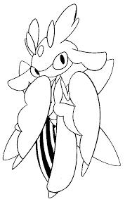 coloring pages pokemon lurantis drawings pokemon