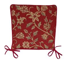 garden seat pad floral tapestry design kitchen dining chair