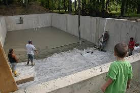 fresh pouring basement floor best home design modern on pouring