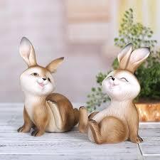 rabbit home decor garden rabbits decor wintersun club
