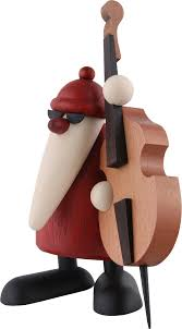 santa claus the bass 12 cm 4 7in by björn köhler