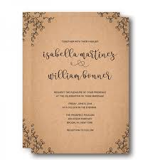 rustic invitations vintage rustic fall wedding invitation wip061 wedding