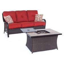 Firepit Patio Table by Fire Pit Sets Outdoor Lounge Furniture The Home Depot