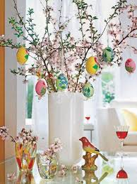 happy easter decorations easter decoration trees happy easter 2017