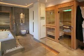 sauna im badezimmer einfach luxus badezimmer wei mit sauna in bezug auf badezimmer