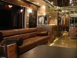 Motorhome Custom Interiors Inside The Nascar Drivers 2m Motor Homes That Host The Families