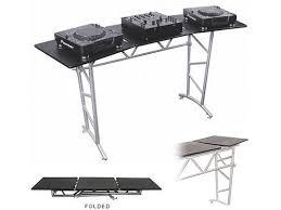 Dj Desk Odyssey Att2 Folding Heavy Duty Truss Style Dj Table New U2022 Planet Dj