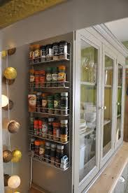 cabinet racks kitchen diy under cabinet spice rack built in best door drawer organizer