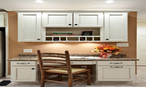 Kitchen Desk Cabinets Desk Cabinetry Kitchen Desk Cabinet Kitchen Traditional With Area