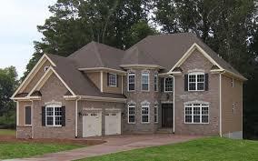 Pleasurable Ideas New Brick Home Designs Examples Of Homes - New brick home designs