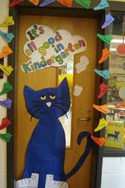 Pete The Cat Classroom Decorations My Pete The Cat Door Could Say