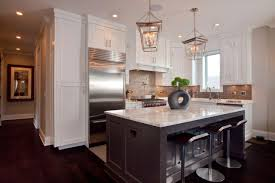 Open Galley Kitchen Ideas by Kitchen Island U0026 Carts Beautiful Grey Traditional Painted Wooden