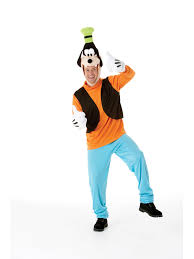 disney cartoon goofy dog fancy dress costume mens gents ebay