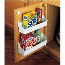 kitchen cabinet door storage racks rev a shelf kitchen cabinet door mounting storage shelf sets