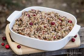 week 23 bacon cranberry rice gluten free delicious by dre
