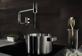 Kitchen Pot Filler Faucets Water Zones Tara Ultra Pot Filler By Dornbracht Stylepark