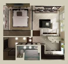 Studio Apartment Layout 59 Best Apartment Images On Pinterest In Law Suite Mother In