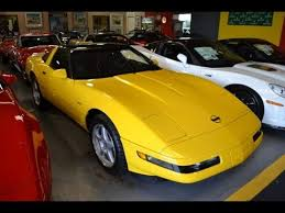 corvette zr1 yellow sold 1995 yellow corvette zr1 for sale by corvette mike anaheim