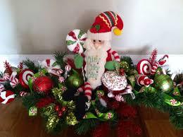 hand made christmas santa centerpiece by design twenty nine