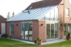 lean to conservatories modern glass lean to extensions