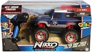 land rover truck james bond nikko r c 1 16 land rover defender 90 toy at mighty ape australia