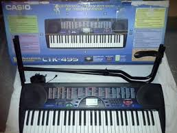 casio ctk 495 keyboard with stand in stirling gumtree