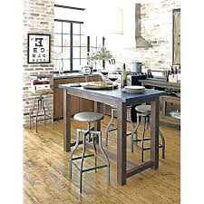 riveting counter height pub table kitchen island with wooden