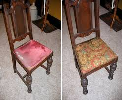 How To Reupholster Dining Room Chair Seat - Reupholstering dining room chairs