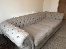 new langham fabric chesterfield sofa 4 seater from furniture