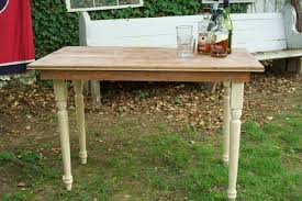 How To Make A Wooden End Table by How To Make A Folding Farmhouse Table From Reclaimed Wood Man