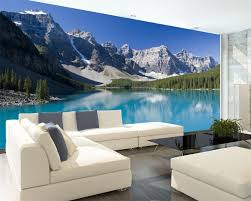 compare prices on bedding mountains online shopping buy low price beibehang wallpaper snow mountain lake landscape painting background modern european art murals living room large 3d