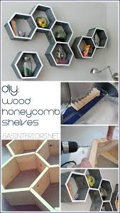 Wooden Shelves Making by Best 25 Hexagon Shelves Ideas On Pinterest Honeycomb Shelves