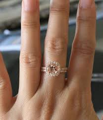 morganite engagement ring gold luxury jewelry 2017 2018 set morganite engagement rings in 14k
