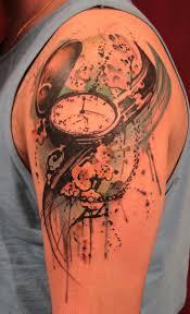 watch watercolor tattoos shoulder tattoos for man tattoo ideas