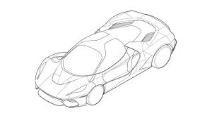 ferrari sketch patent images reveal potential ferrari megacar project gtspirit