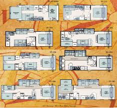 forest river surveyor travel trailer floorplans