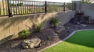 Backyard Corner Landscaping Ideas Small Backyard Landscaping Az Living Landscape U0026 Design