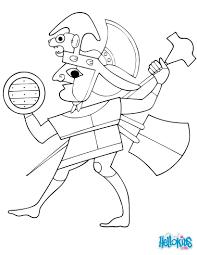 Un joli coloriage du Guerrier mochica une personne emblématique de
