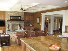warm family room designs with fireplace home decor and furniture