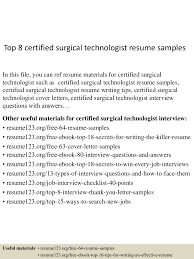 tech resume examples pleasurable surgical tech resume sample 7 technician template cv shocking ideas surgical tech resume sample 14 top8certifiedsurgicaltechnologistresumesamples