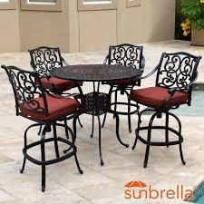 discount cast aluminum patio furniture cast aluminum outdoor bar sets ultimate patio