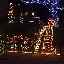 animated outdoor christmas decorations animated and outdoor christmas decoration with rope