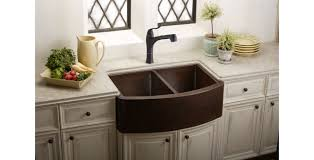 Discount Apron Front Kitchen Sinks by Double Kitchen Sink Copper Commercial Apron Front Harmony