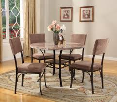alluring 5 piece glass dining table set about roundhill furniture
