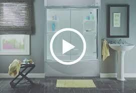 Bathroom Tub Shower Doors Home Depot Tub Shower Door Install A Glue Up Shower Enclosure Home