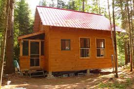 small cabin woods living simple life off grid house plans 65586
