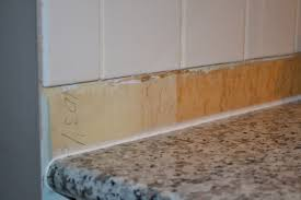 kitchen countertops without backsplash gap between backsplash and countertop thefunkypixel com