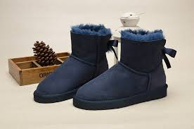 ugg bailey bow navy blue sale ugg mini bailey bow boots 1005062 navy uggzm00000048 navy