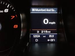 dash display gas mileage audi a5 forum u0026 audi s5 forum