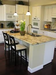pictures of kitchens with islands small kitchen island with breakfast bar design outofhome